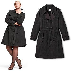 Altuzarra Target XXO Snakeskin trench coat 1X NWT
